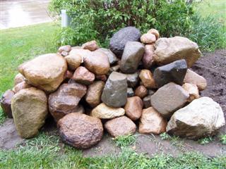 Bickal koi farm pond rock for Koi pond rocks