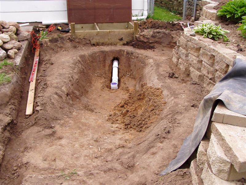 Bottom drains for ponds you