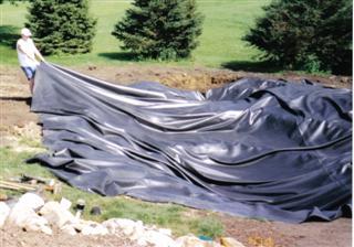 Bickal koi farm pond liner for Koi pool liners