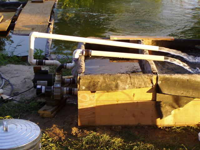 Pond Pump Placement Of Greg Bickal 39 S Diy Series Diy Pond Pump The Luke Pump