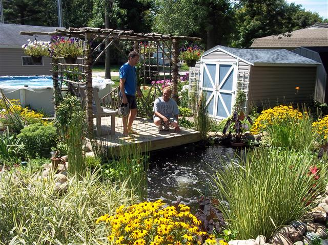 Bickal koi farm koi pond consultation for Koi pond builders mn