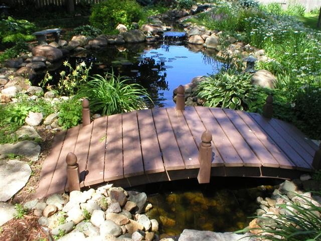 I Helped This Home Owner Design This Pond. The Homeowner Did All Of The  Work, I Reviewed His Work And Helped Him Do Some Of The Finish Work, ...