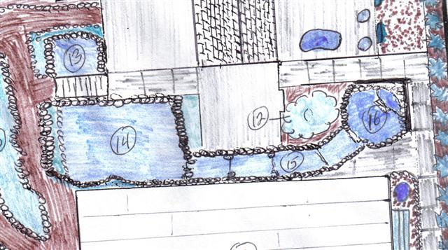 Bickal koi farm koi pond consultation springville iowa for Koi pond pipework layout
